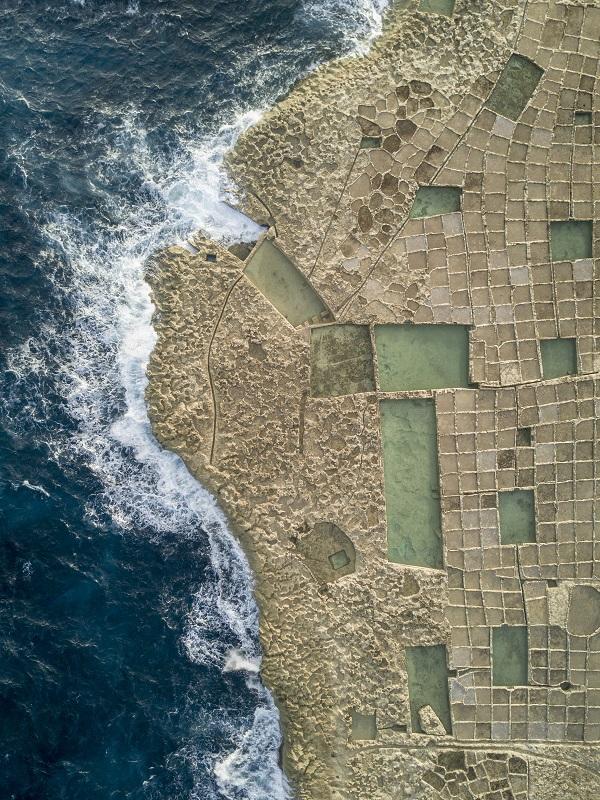 Carved Slat pan aerial in Malta